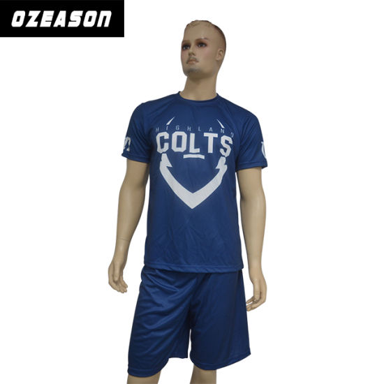 Wholesale 100% Polyester Soccer Jersey/Football Shirts/Soccer Uniform for Training