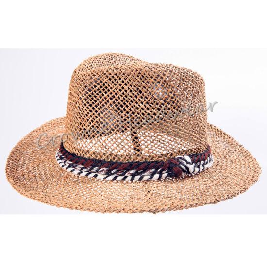 491b243c China Widebrim Summer Hat Straw Paper Panama Bucket Hat - China Hat ...