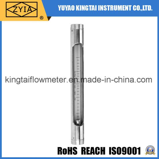 All Stainless Steel Vertical Glass Tube Rotameter