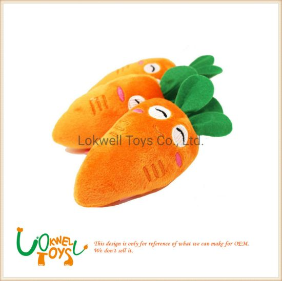 Soft Plush Cushion Stuffed Carrot Doll pictures & photos