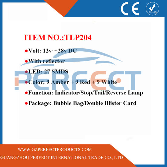 China LED Truck Indicator/Stop/Reverse/Side Marker/Reflector Jumbo