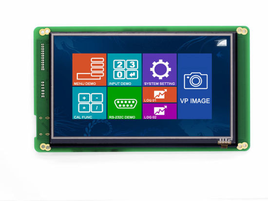 7 Inch 800X480 Resistive Touch Screen LCD Module TFT LCD Display