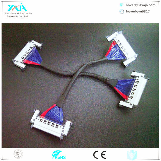 2018 Hot Sale Custom Make Micro Coaxial Lvds Cable