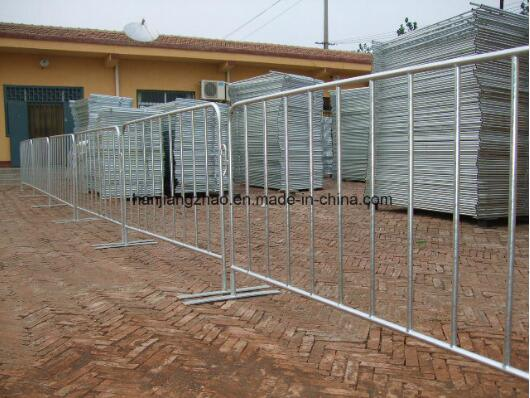 China Galvanized Tube Crowd Control Barrier / Pedestrian Barrier (XMS6) pictures & photos