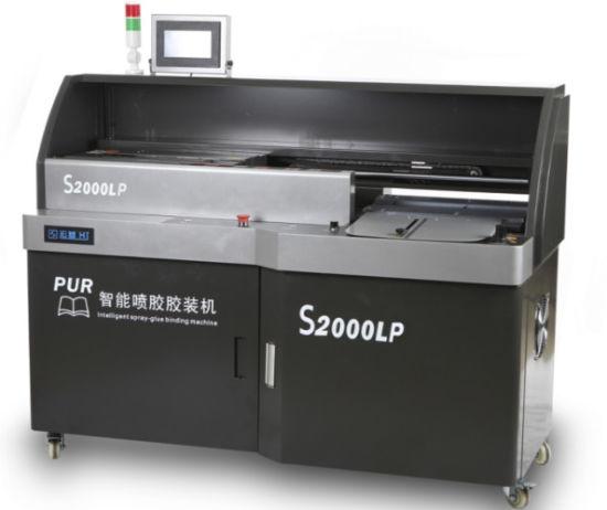 PUR Perfect Binding Machine for Photo Book Menu and PVC A3