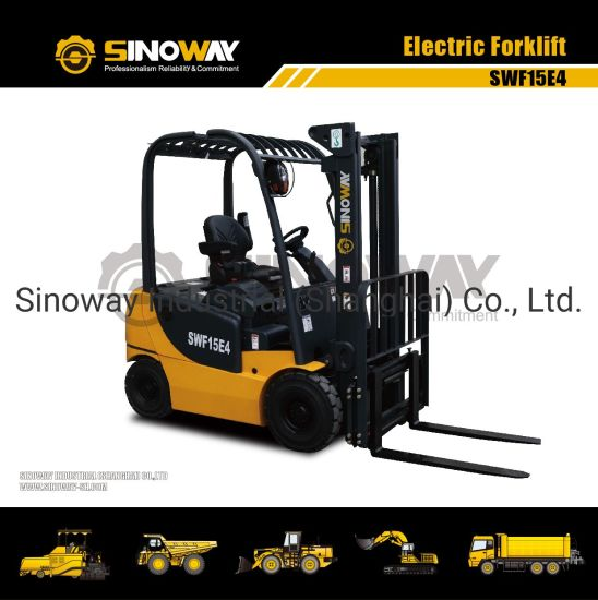 1.5 Ton Battery Powered Forklift Truck, Electrick Forklift Truck