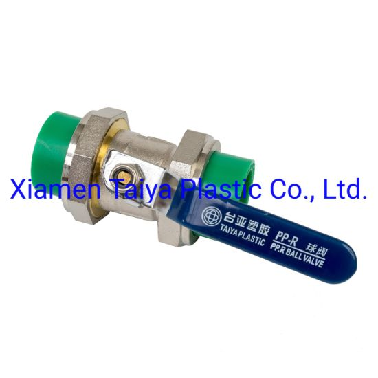 High Presure PPR Double Union Valve for Hot & Cold Water Supply pictures & photos