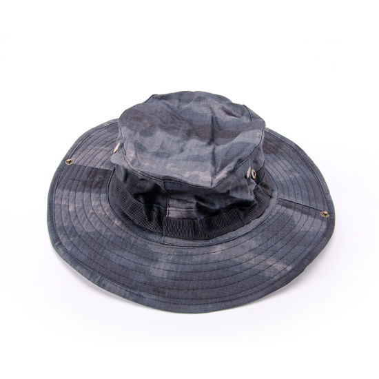 China Le Camo Tactical Military Cap Bucket Hats for Fishing ... 46a3a711f6b9