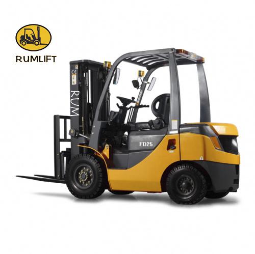 Shanghai Good Quality 2.5 Ton Diesel Forklift Truck