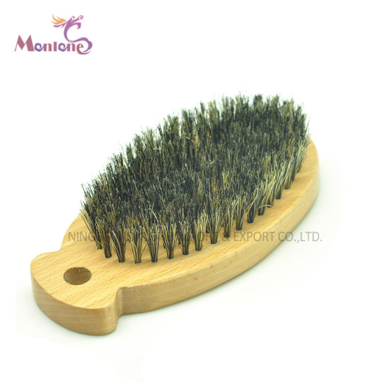 Pet Cat Cleaning Grooming Wooden Deshedding Tool Bristles Brush