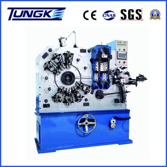 Automatic Metal Strip and Wire Forming Machine (ZSM-33T)