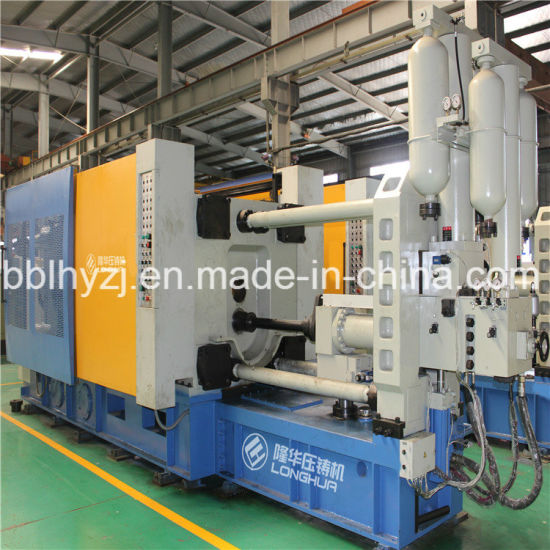 Lh-3500t Aluminum Alloy Pressure Machine Vacuum Centrifugal Casting Machine for Platinum pictures & photos