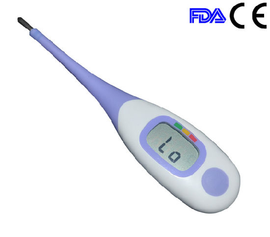 Big LCD Display Digital Medical Flexible Thermometer with Backlight
