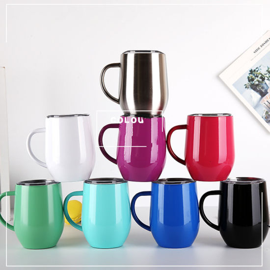 88b8c2be9bd China Stainless Steel Wholesale 12oz Coffee Cup Glass Skinny Yeti ...