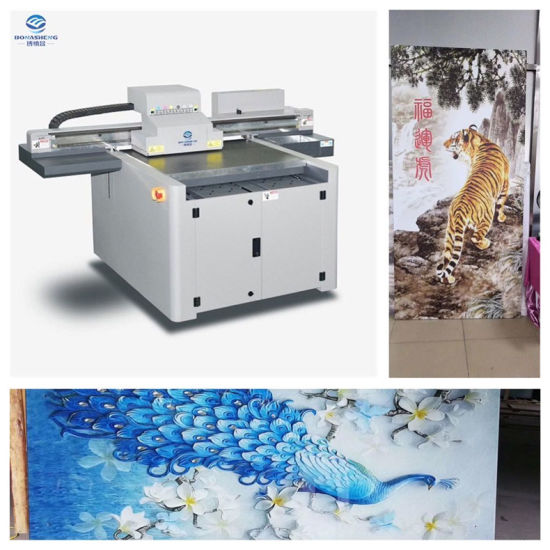 Wholesale Industrial Multifunctional 6090/9060 Phone Case UV LED Flatbed Digital Printer TPU Phone Case Printing Machine with White Color