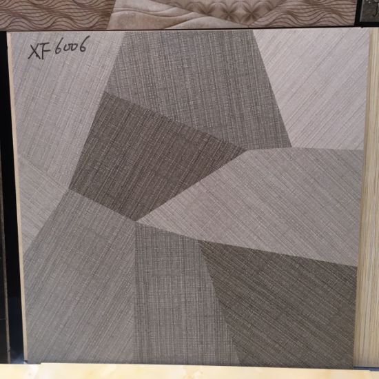 China Textile Fabrics Look 600600mm Ink Jet Non Slip Bathroom