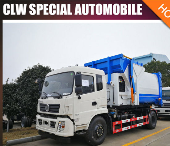 Clw 4X2 Side Auto Loading Compactor Garbage Truck