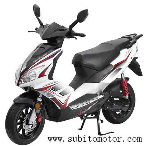Speedjet 50cc Gas EEC Scooters 2 Stroke Water Cooled Moped Popular Design Scooter Motorcycle