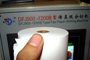 High Quality Thermal Receipt Paper Roll Slitter Rewinder pictures & photos