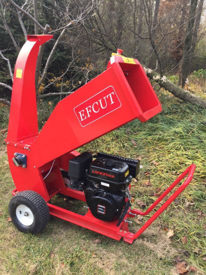 15HP New Design Wood Branches Chipping Machine for Grove/Garden pictures & photos