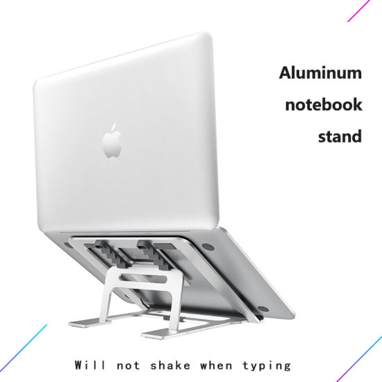 One Piece Carring Notebook Stand Foldable Laptop Holder