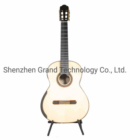 Chamber Concert by Yulong Guo Classic Guitar Spruce Double Top Pau Ferro Back Sides 640mm Scale Length