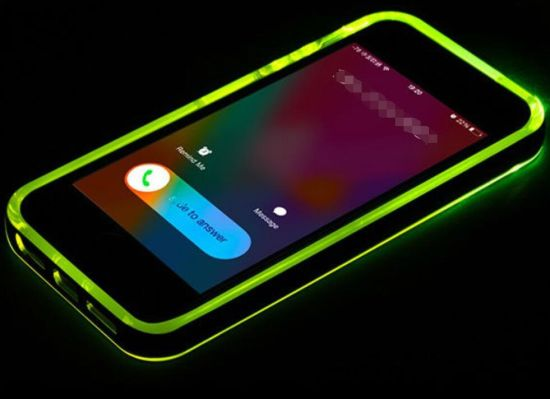 Merry Christmas Lightning Flash Mobile Phone Case for Samsung S6 Edge Plus