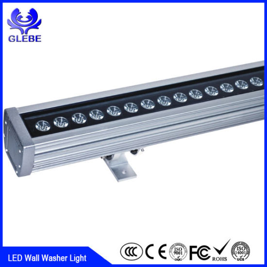 china ip65 dmx512 outdoor led wall light high power rgb 36w 48w led