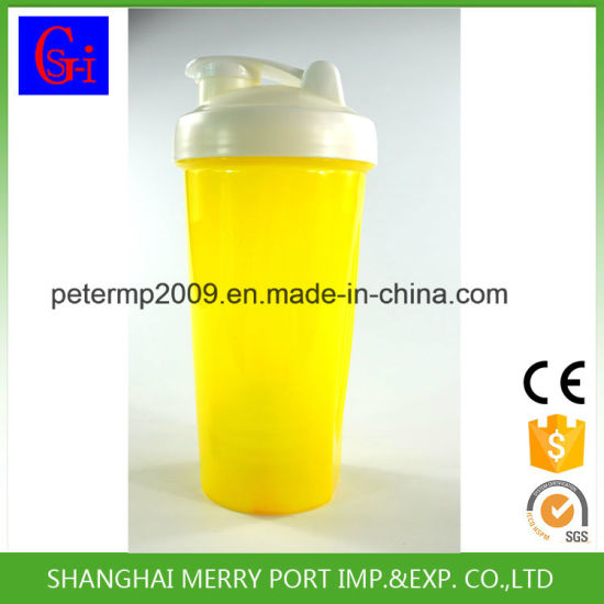 OEM Removable Plastic Propeller and Comes Plastic Fitness Shaker Bottle with Measurements pictures & photos