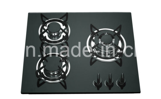 Good Price Black Tempered Glass China Supplier Gas Stove Cooker Jzg53201b pictures & photos