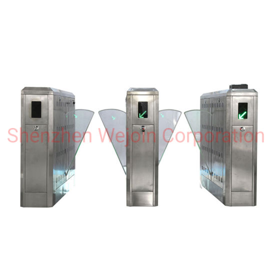 Stainless Steel Retractable Swing Barrier Turnstile Gate pictures & photos