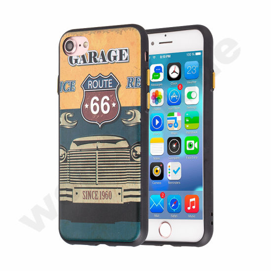 Newest 2 in 1 Shockproof Cell Phone Case for iPhone 7