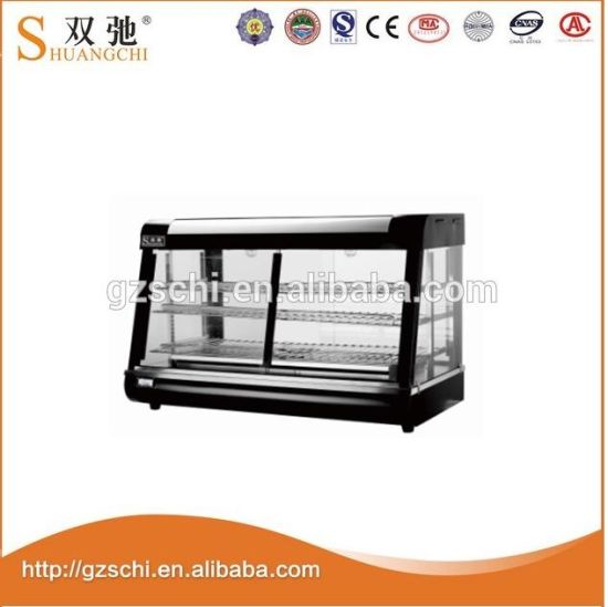 Popular Wholesale Commercial Glass Food Warming Showcase pictures & photos