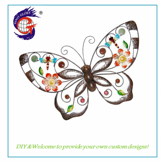 China Home Interior Wall Decoration Creative Butterfly Wall
