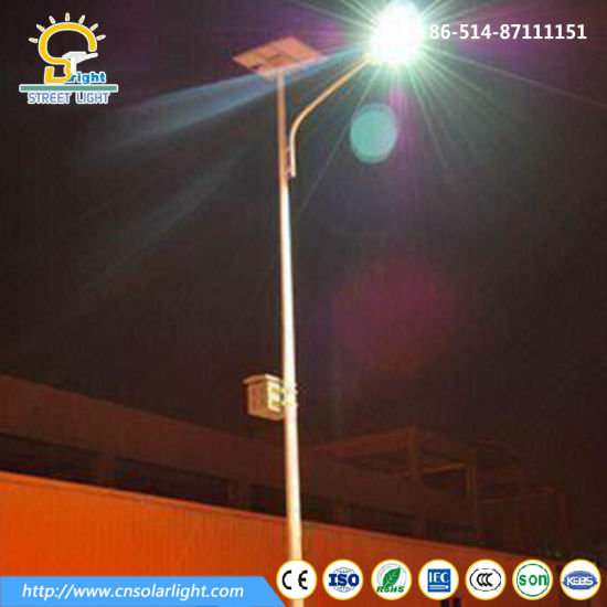 Cool Temterapure 8m 60W Solar Powered Street Light with LED Lighting