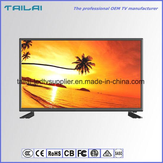 "Wholesale 32"" Home Use Narrow Frame Ultra Slim HD LED TV Low Power"