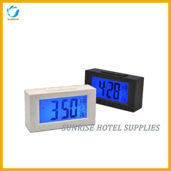 Large LCD Display Alarm Clock Digital Clock