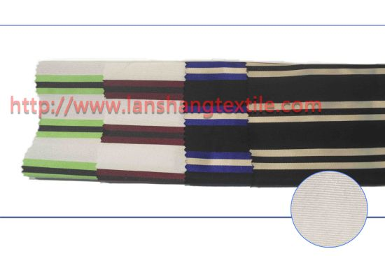 Yarn Dyed Jacquard Polyester Fabric for Woman Dress Dress Coat Children Garment pictures & photos