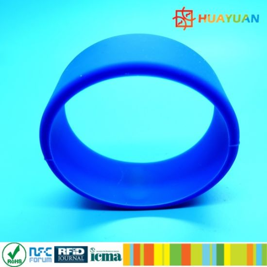 ISO15693 Sports Center Access Control Smart RFID Gym Wristband pictures & photos