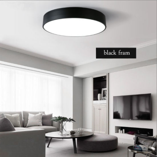 Modern Round Indoor Lighting Led Ceiling Lamp Lights Fixtures For Bedroom In 12w 18w 24w 36w 40w