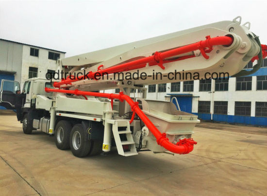 32/37/48/52m concrete pump boom for truck pictures & photos