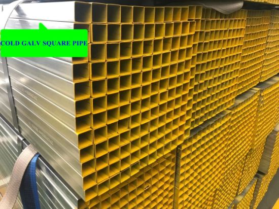 Hot Dipped Galvanized Square Pipe/Shs Tube pictures & photos