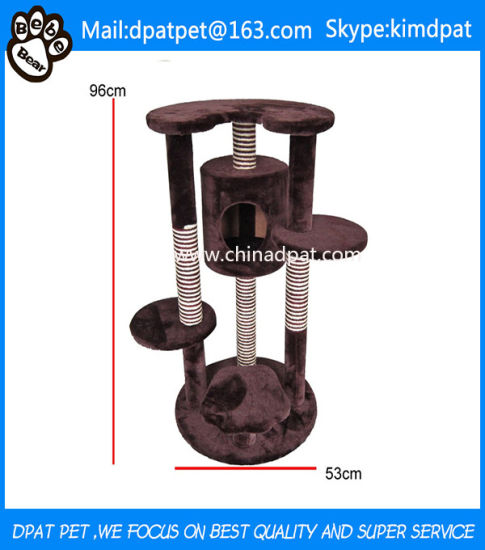 Professional Manufacture Cat Tree House Pet Products