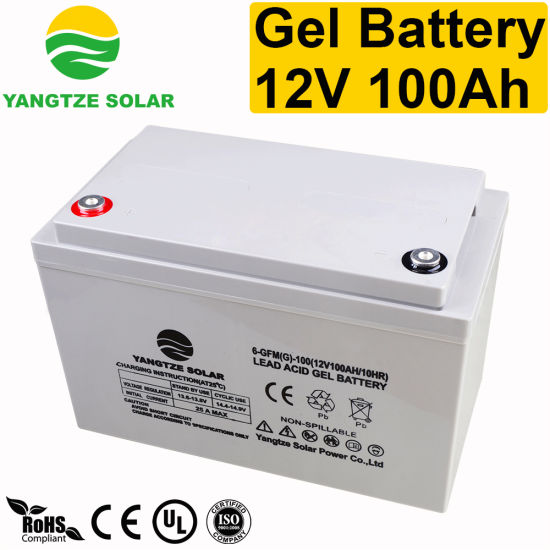 China 12V 100ah Best Marine Deep Cycle Battery Prices