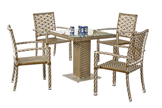 Garden Set (chair and table) --Ln-1037 pictures & photos