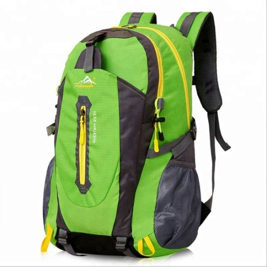 Distributor Waterproof Nylon Material Large Capacity Hiking Back Pack School Bags pictures & photos