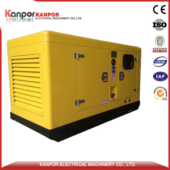 45kVA 36kw Power by Famous Yanmar Engine Silent Diesel Generator