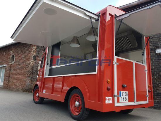 China Chicken Rotisserie Mobile Restaurant Trucks China Food