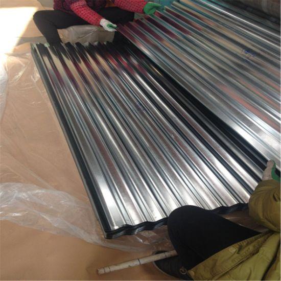 SGCC Hot Dipped Galvanized Aluminum Corrugated Roofing Sheet