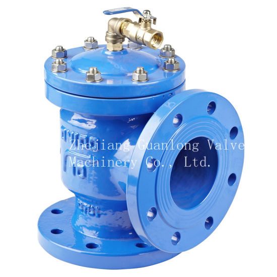 Angle Type Piston Actuated Altitude Water Level Control Valve (H142X) pictures & photos